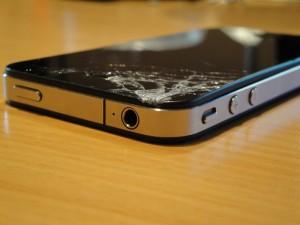 Vetro iPhone 4 Frantumato Anteriore