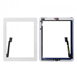 Vetro ricambio vetro iPad 3 Branco