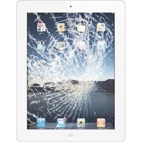 Vetro rotto iPad 3 Bianco