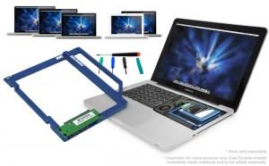 OWC data doubler - adattatore di disco fisso per il Macbook Pro