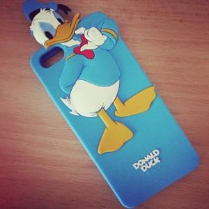 custodia cover case donald duck